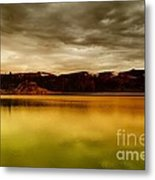 Intenisty In The Clouds  Metal Print