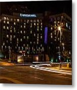Intercontinental Hotel Metal Print
