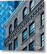 Intercontinental New And Old Metal Print