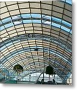 Interior Of A Modern Building Metal Print