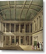 Interior Of Concert Room, From Bath Metal Print