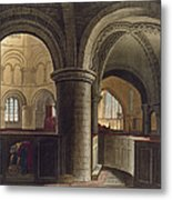 Interior Of The Church Of The Holy Metal Print