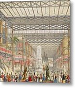 Interior Of The Crystal Palace, Pub Metal Print
