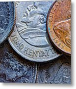 International Coins Metal Print