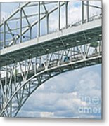 International Crossing Metal Print
