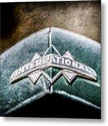 International Grille Emblem -0741ac Metal Print