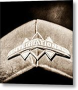 International Grille Emblem -0741s Metal Print