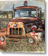 International Harvester Metal Print by Tracy Munson