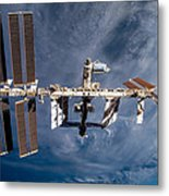 International Space Station Metal Print