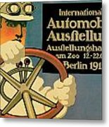 Internationale Automobile Ausftellung Metal Print