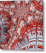 Intersecting Metal Print
