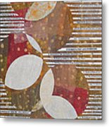 Intersection Of Contents Metal Print