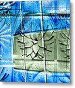 Interstate 10- Exit 258- Broadway Blvd / Congress St Underpass- Rectangle Remix Metal Print