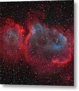 Interstellar Embryo  Ic 1848, The  Soul Metal Print