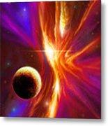 Intersteller Supernova Metal Print by James Christopher Hill