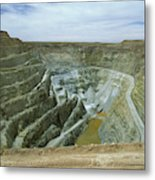 Inti Raymi Gold Mine Quarry In Oruro Metal Print