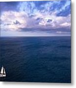 Into The Blues Metal Print