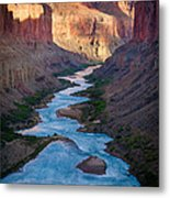 Into The Canyon Metal Print