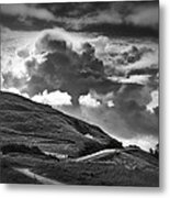 Into The Clouds Metal Print by Andrew Soundarajan