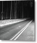 Into The Darkness Metal Print