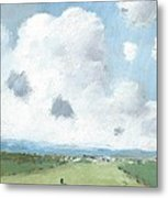 Into The Distance Part Five Metal Print by Alan Daysh