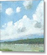 Into The Distance Part Three Metal Print by Alan Daysh