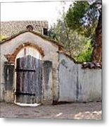 Into The Light, Mission San Miguel Archangel, California Metal Print