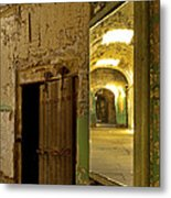 Into The Looking Glass Metal Print