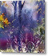 Into The Mist - A Dream State Metal Print
