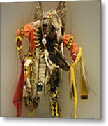 Pow Wow Into The Mystic Metal Print