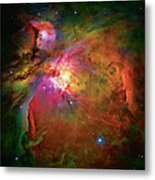 Into The Orion Nebula Metal Print