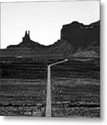 Into The Valley Of Monuments Metal Print