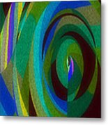 Into The Void Metal Print