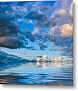 Into The Wild Blue Yonder Metal Print