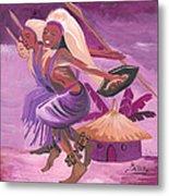 Intore Dance From Rwanda Metal Print
