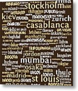 Intransit 20130625bwwa85 Metal Print by Wingsdomain Art and Photography
