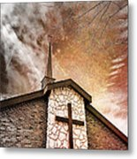 Intrepid Faith Metal Print by Bill Tiepelman