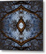 Intricate Eye In The Sky Metal Print