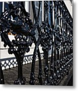 Intricate Georgetown Shapes And Shadows - Washington D C  Metal Print