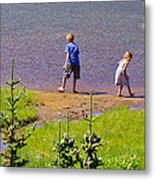 Intrigue Of The Search Metal Print