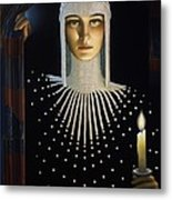 Intrique Metal Print by Jane Whiting Chrzanoska