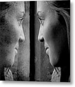 Introspection Metal Print by Lisa Knechtel