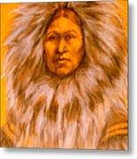 Inuit Woman Metal Print