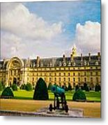 Invalides Paris France Metal Print