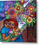 Invention Of Love Closer Metal Print
