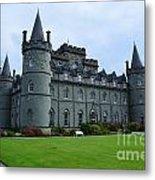 Inveraray Castle In Argyll Metal Print