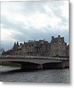 Inverness And Bridge Metal Print
