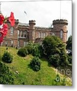 Inverness Castle On The Hill Metal Print
