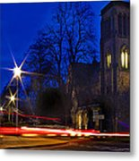 Inverness Cathedral At Night Metal Print