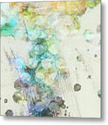 Inversion Abstract Art Metal Print